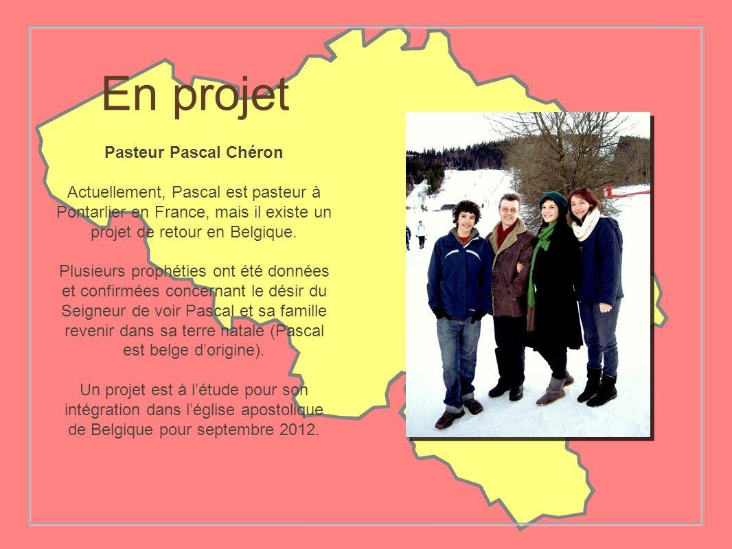 En projet Pasteur Pascal Chéron