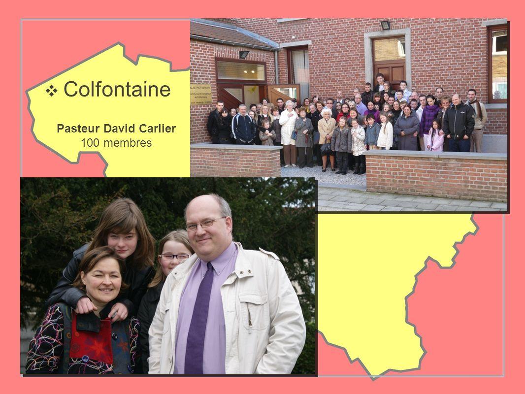 Colfontaine Pasteur David Carlier 100 membres