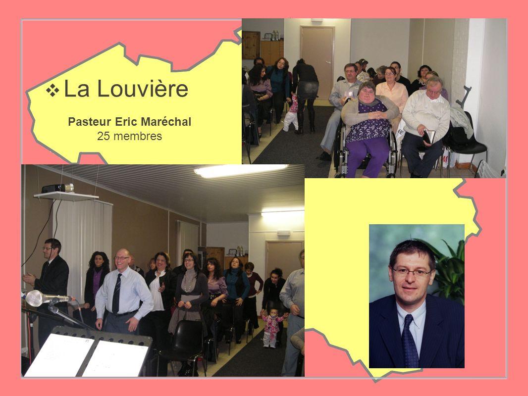 La Louvière Pasteur Eric Maréchal 25 membres