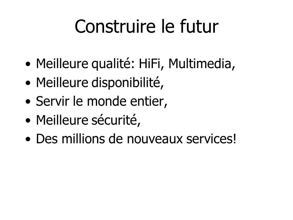 Construire le futur Meilleure qualité: HiFi, Multimedia,