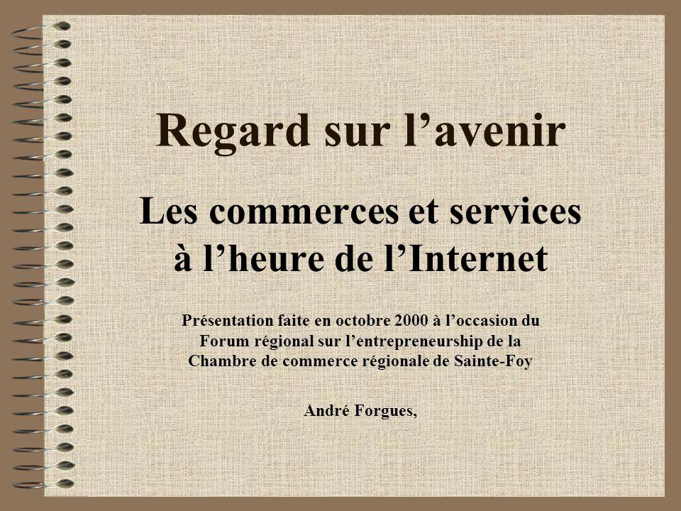 Les commerces et services à l'heure de l'Internet