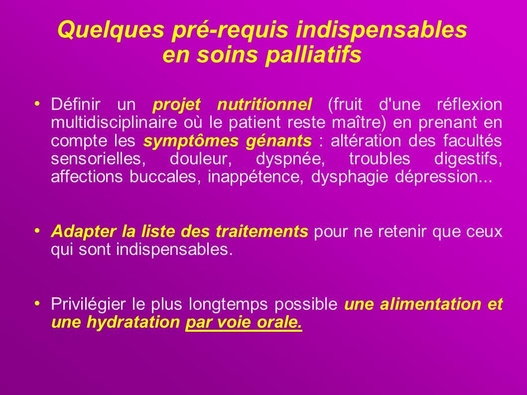 Quelques pré-requis indispensables en soins palliatifs