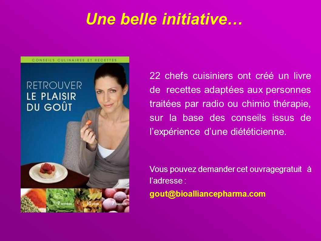 Une belle initiative…