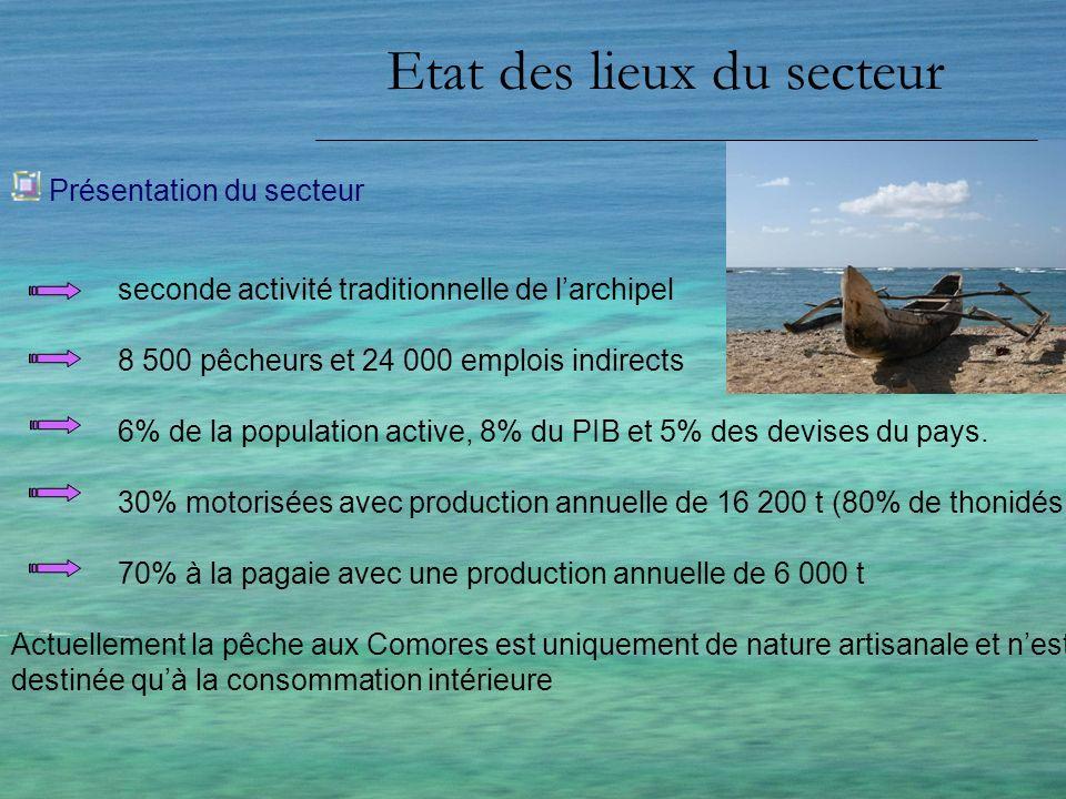 Etat des lieux du secteur