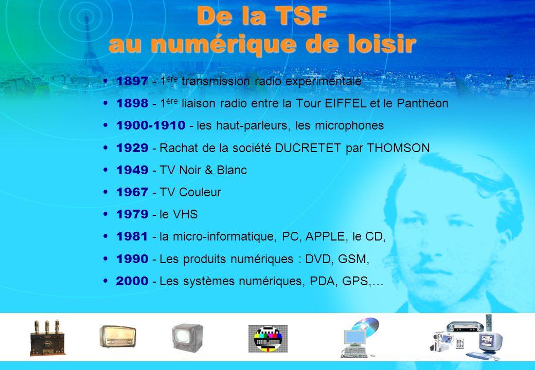 De la TSF au numérique de loisir