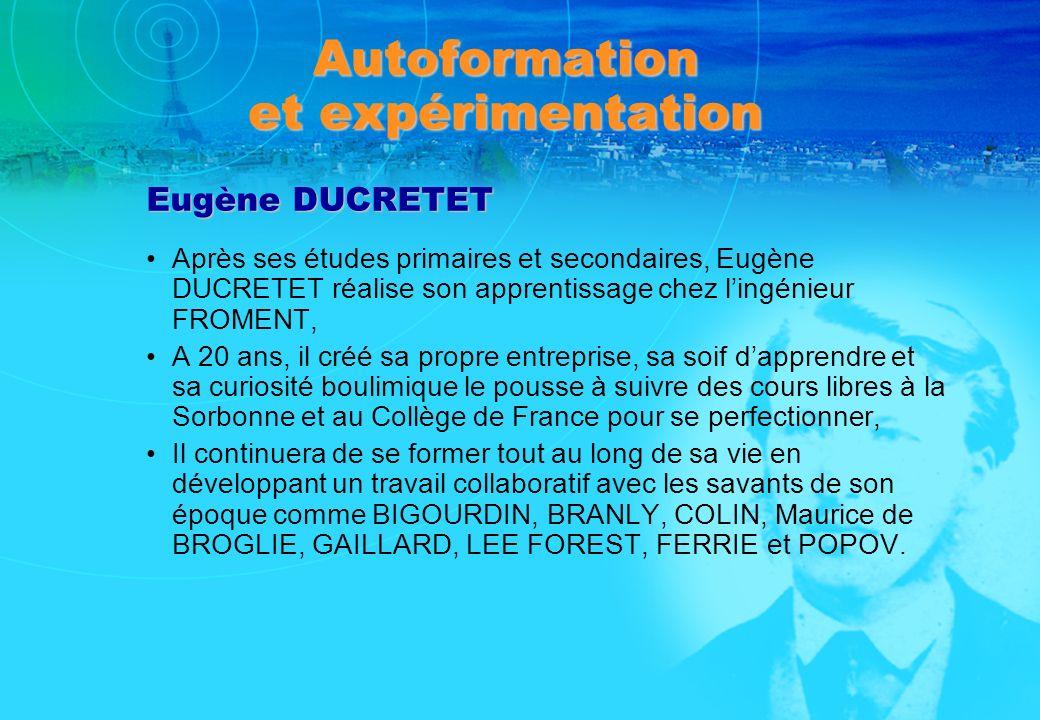 Autoformation et expérimentation