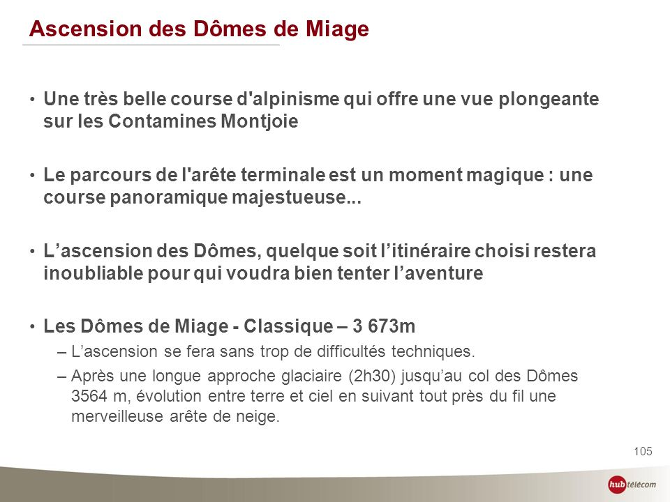 Ascension des Dômes de Miage