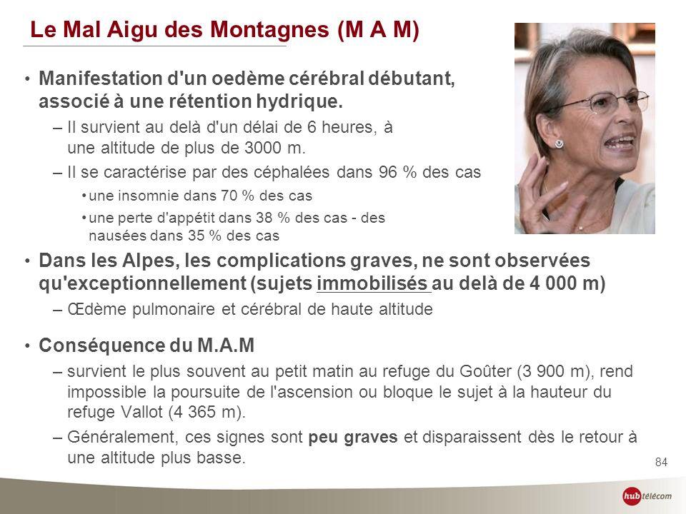 Le Mal Aigu des Montagnes (M A M)