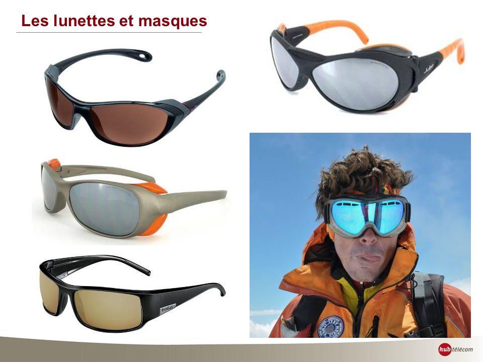 Les lunettes et masques