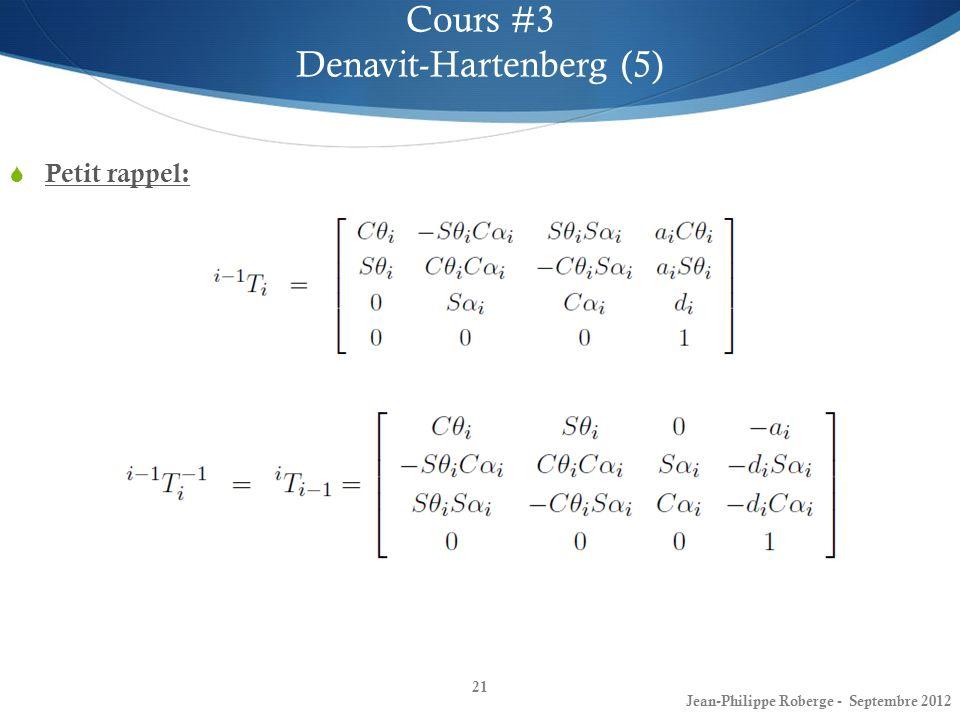 Denavit-Hartenberg (5)