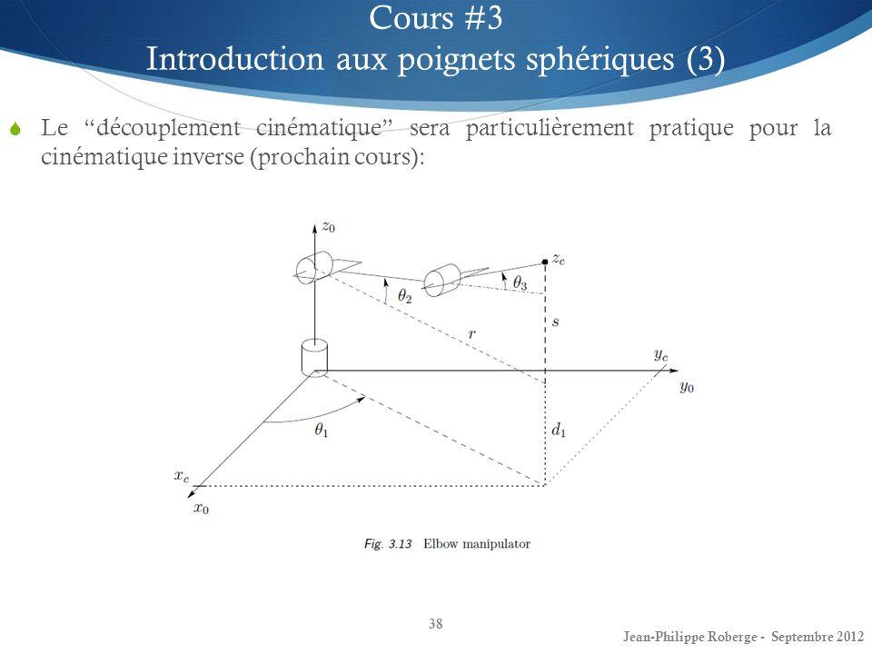 Introduction aux poignets sphériques (3)