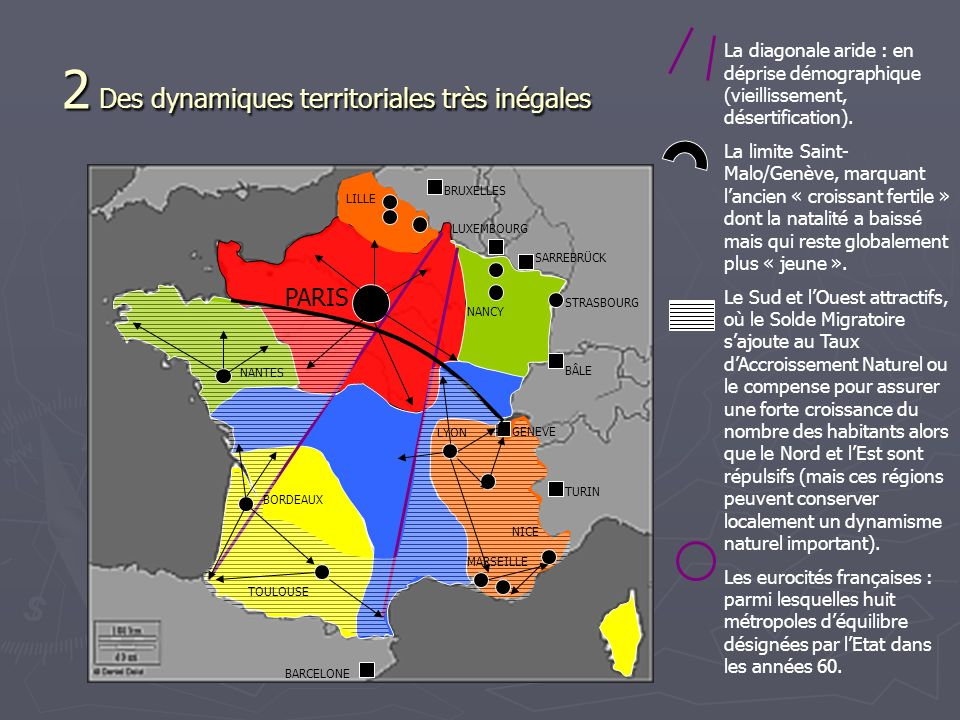 2 Des dynamiques territoriales très inégales