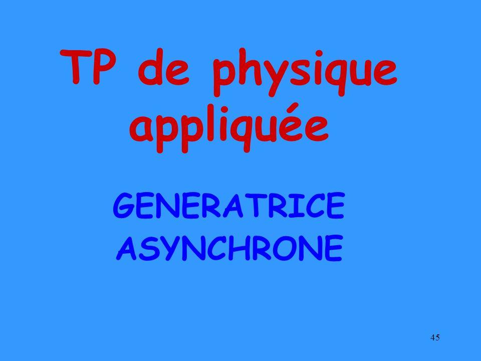 TP de physique appliquée