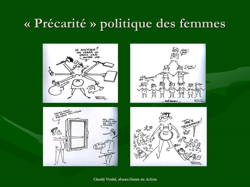 « Précarité » politique des femmes