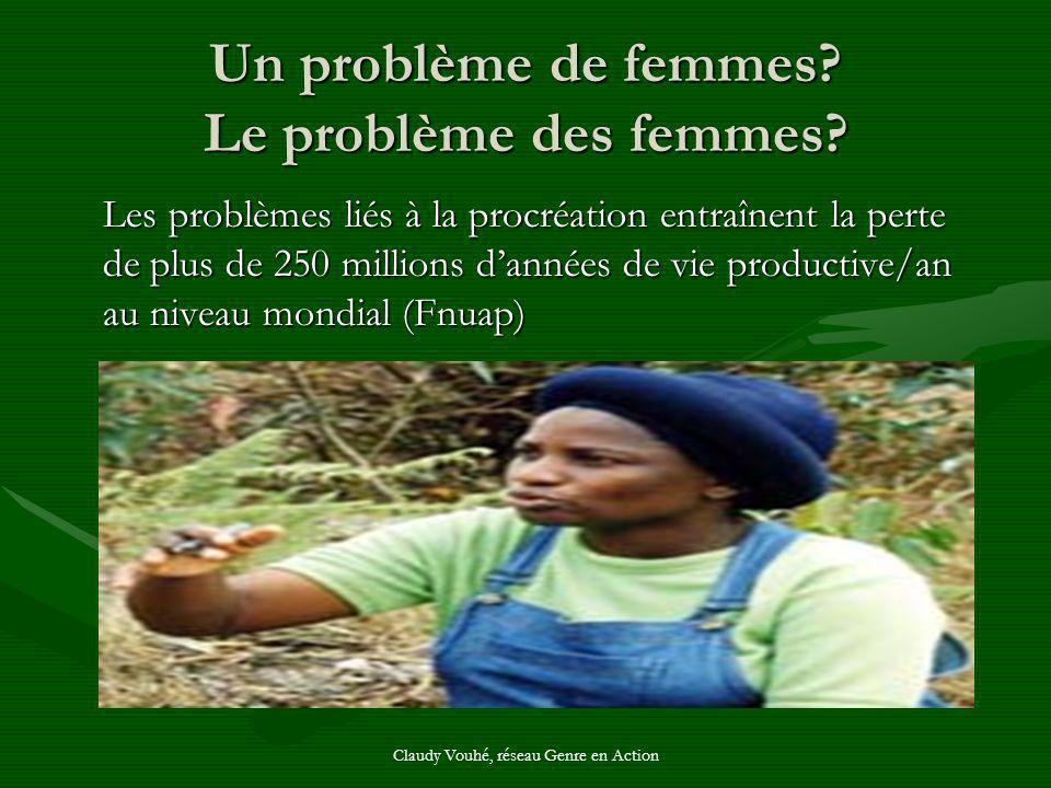 Un problème de femmes Le problème des femmes