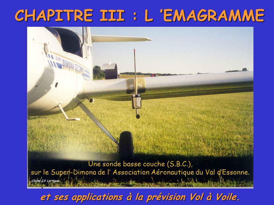 CHAPITRE III : L 'EMAGRAMME