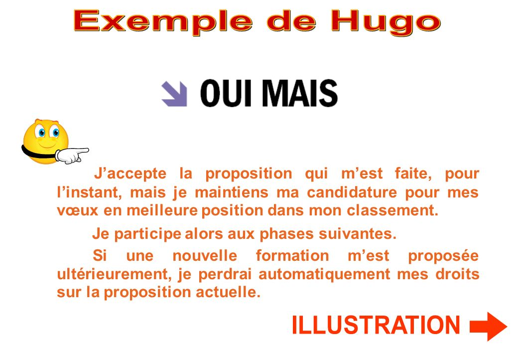 Exemple de Hugo ILLUSTRATION