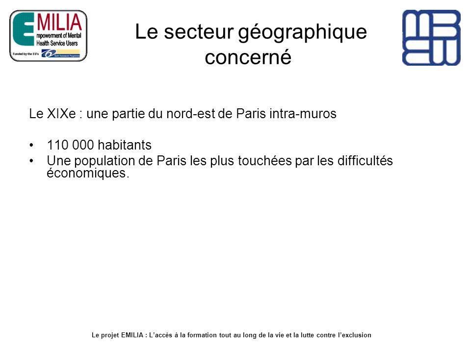 Le secteur géographique concerné