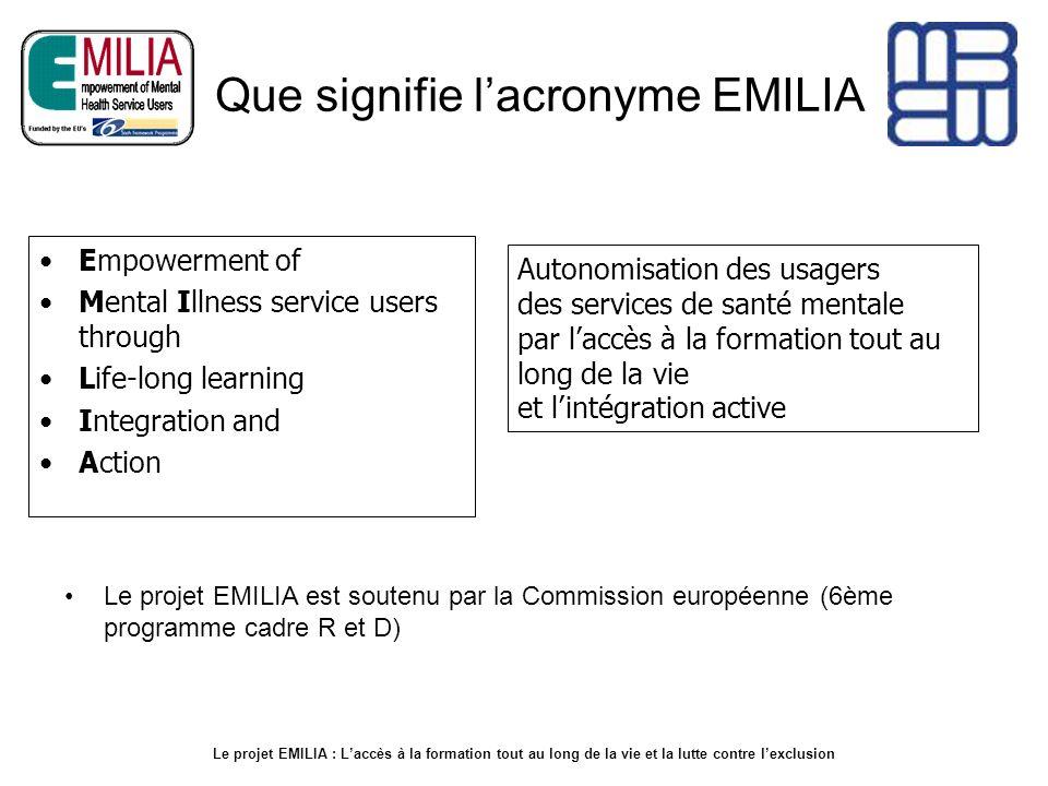 Que signifie l'acronyme EMILIA