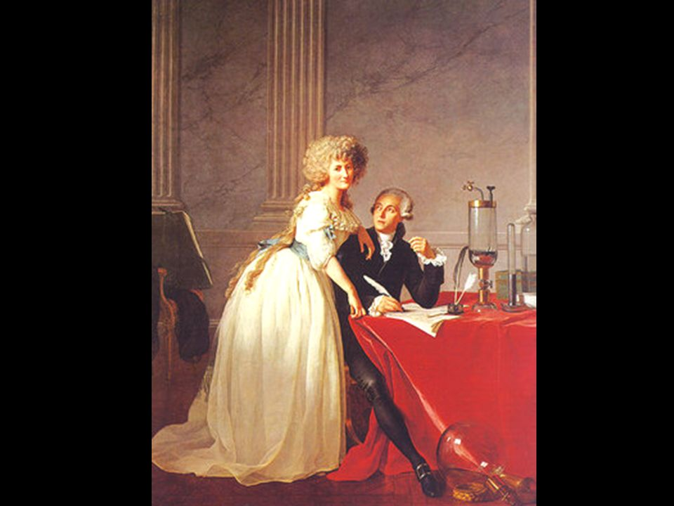 Portrait of Antoine-Laurent and Marie-Anne Lavoisier par David