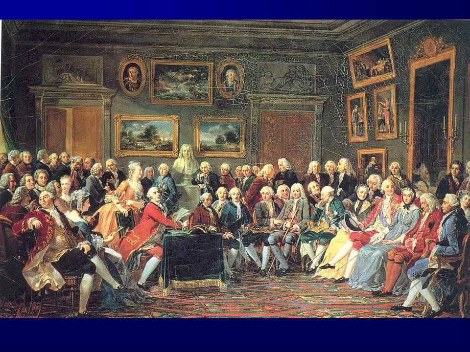 D'Alembert est, à l'époque de l'Encyclopédie, l'hôte privilégié du salon de Mme Geoffrin.