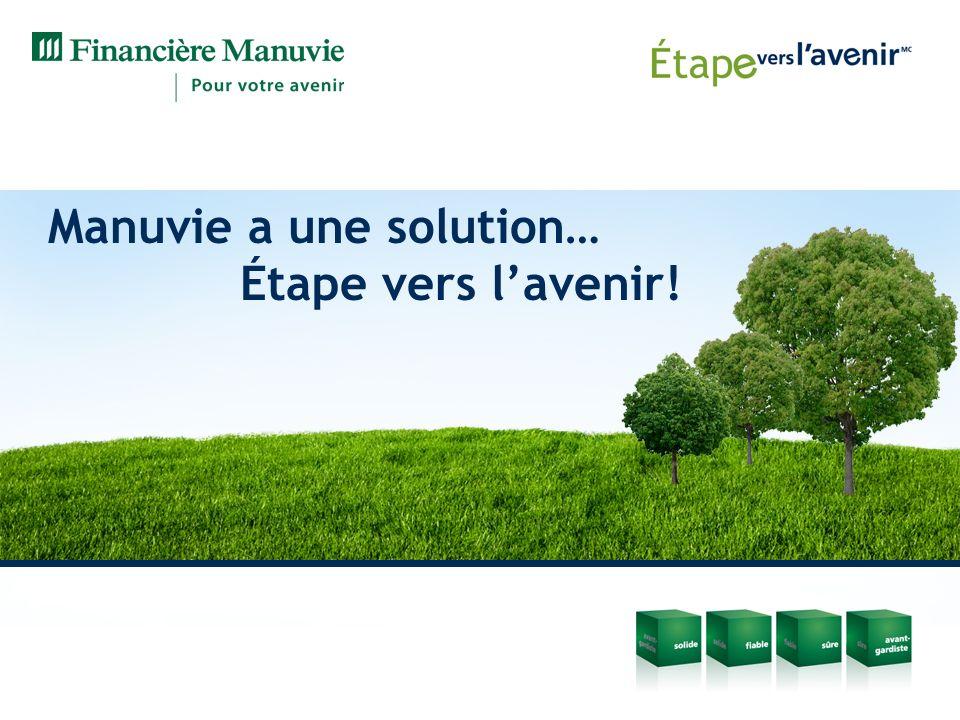 Manuvie a une solution… Étape vers l'avenir!
