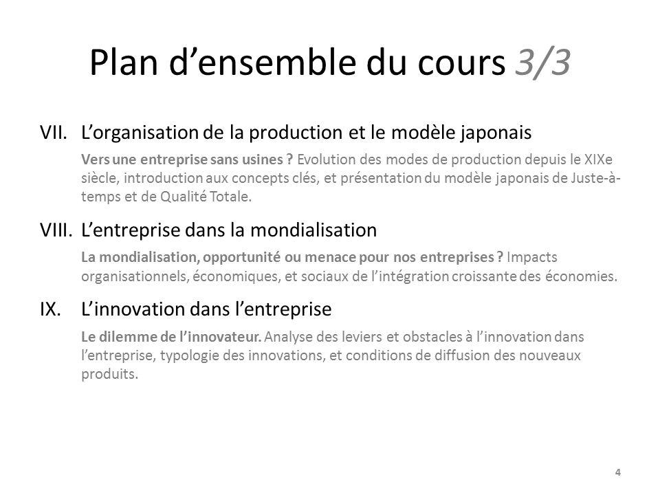 plan de cours entreprise et mondialisation pdf