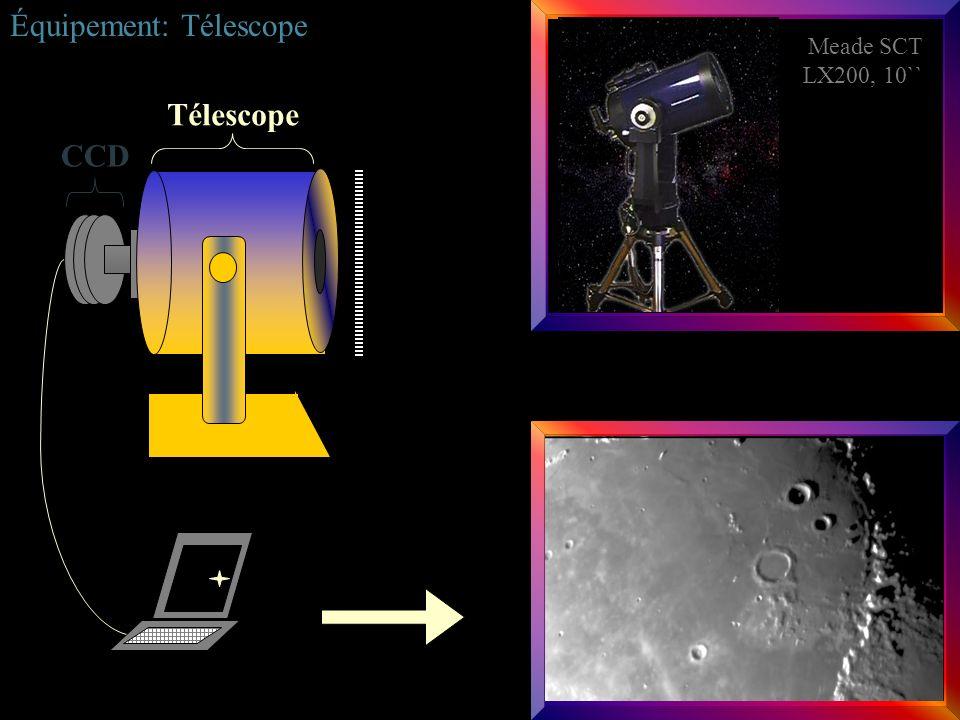 Équipement: Télescope