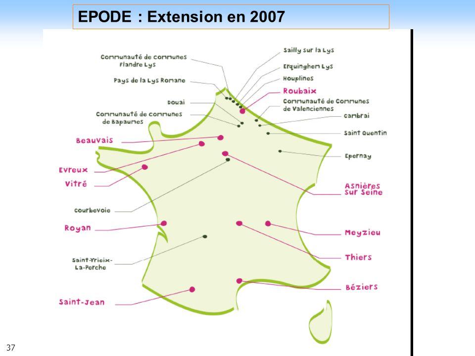 EPODE : Extension en 2007