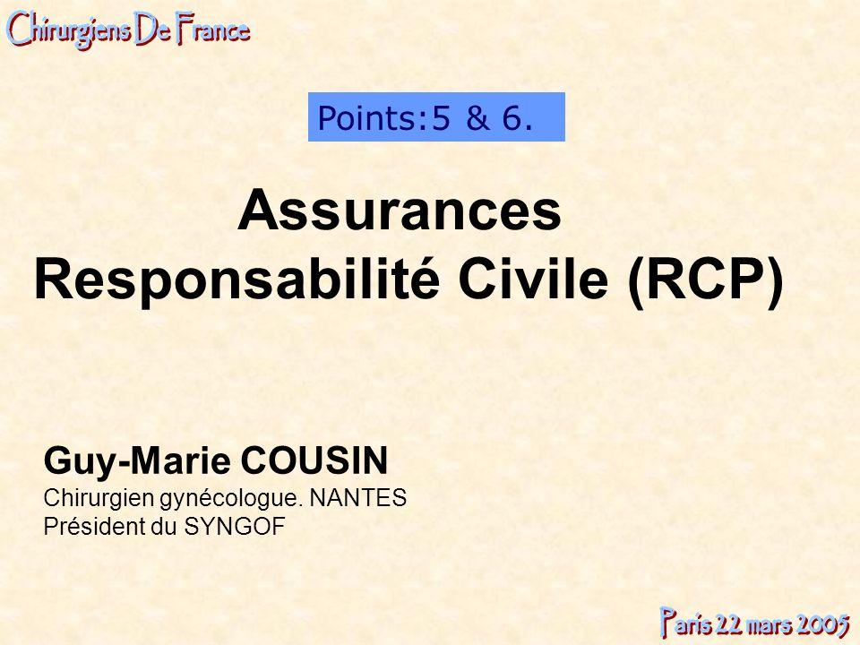 Responsabilité Civile (RCP)