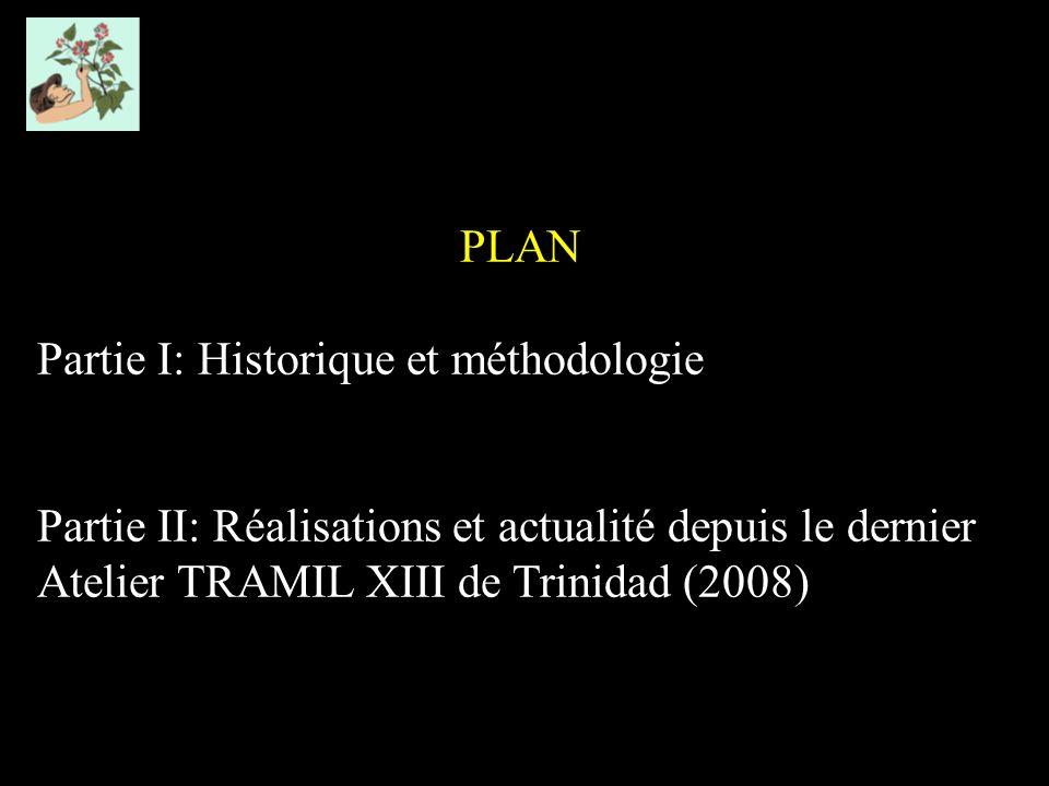 PLAN Partie I: Historique et méthodologie.