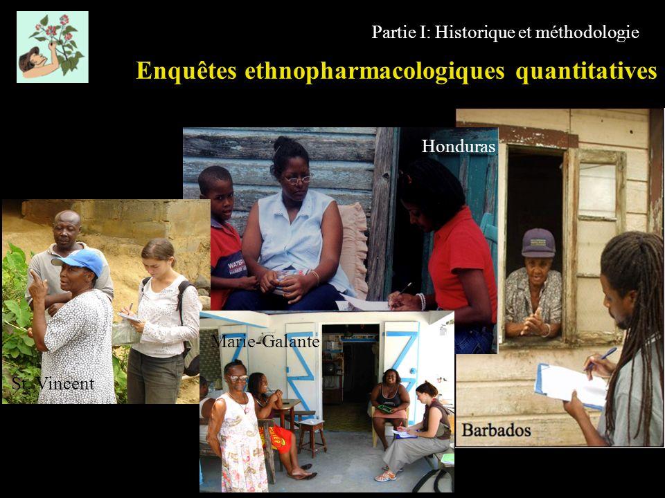 Enquêtes ethnopharmacologiques quantitatives
