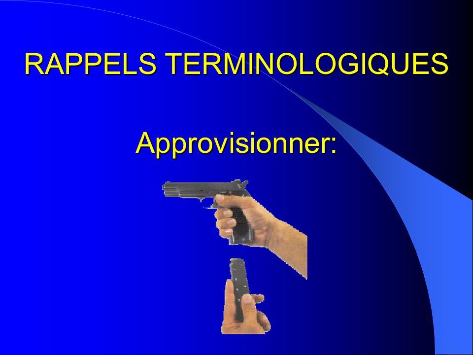 RAPPELS TERMINOLOGIQUES