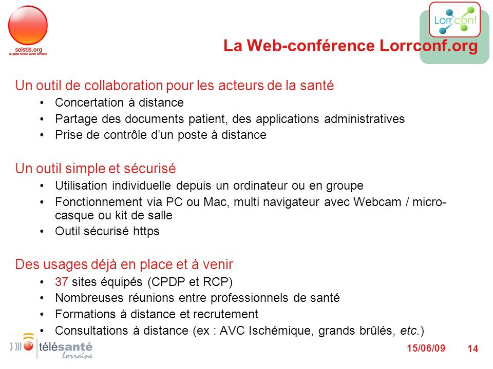 La Web-conférence Lorrconf.org