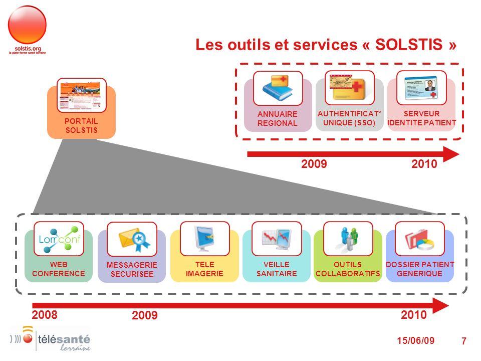 Les outils et services « SOLSTIS »