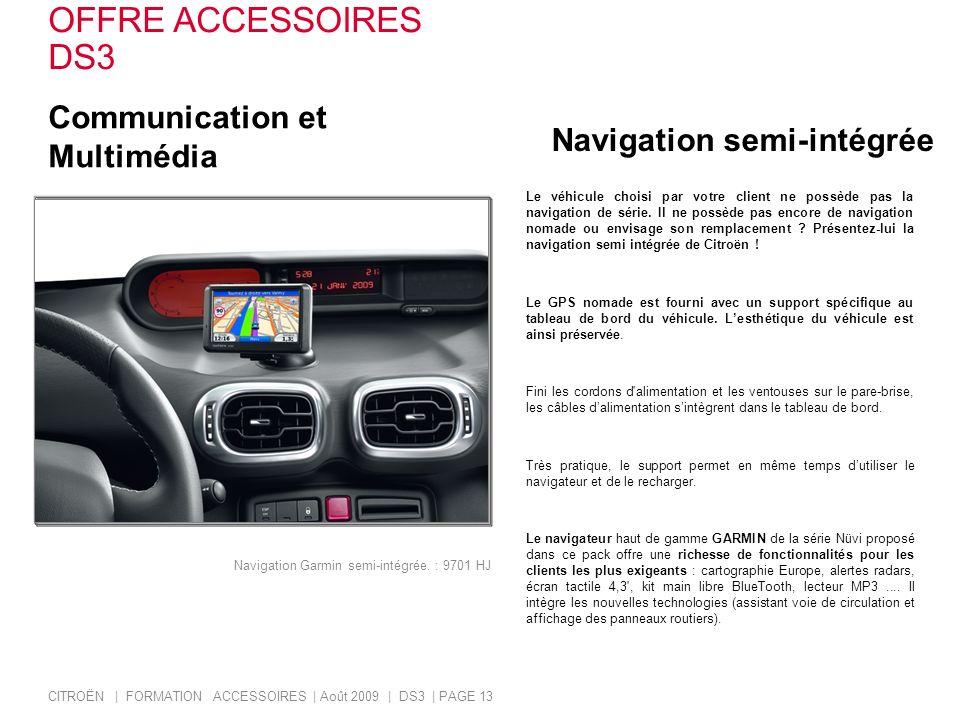 OFFRE ACCESSOIRES DS3 Communication et Multimédia