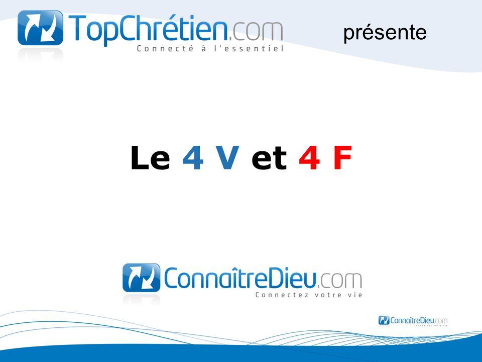 présente Le 4 V et 4 F