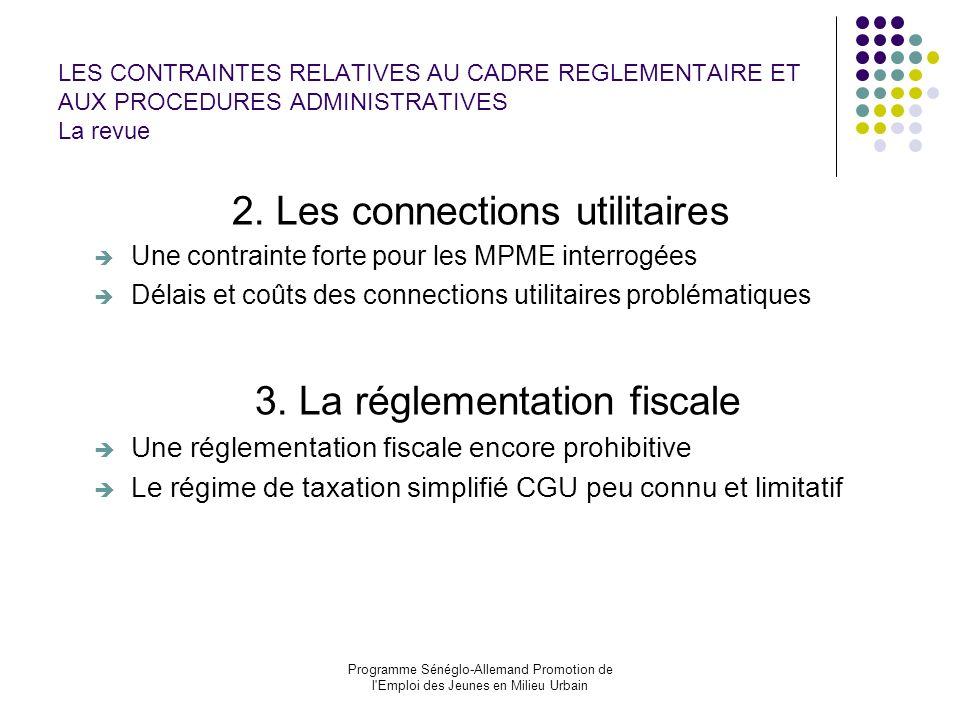 2. Les connections utilitaires