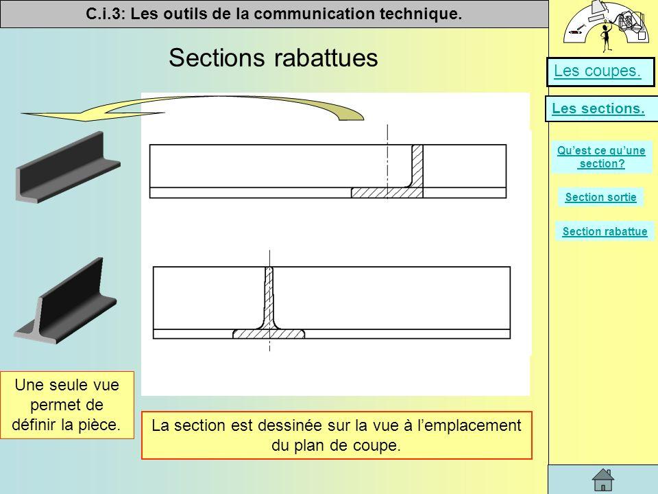 Qu est ce qu une section ppt video online t l charger - Exercice dessin industriel coupe et section ...