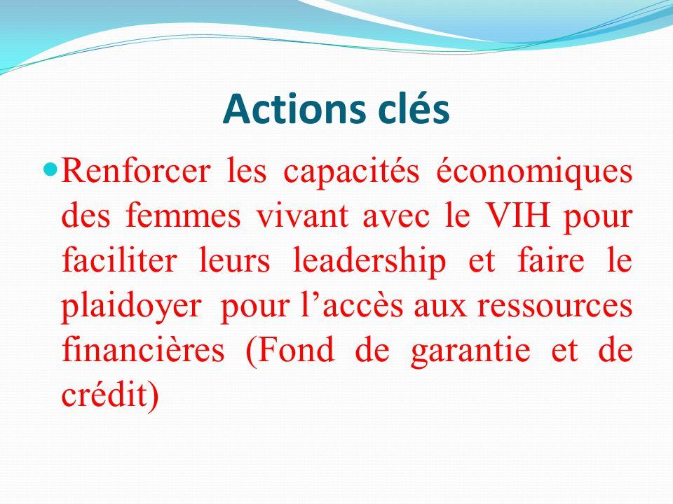 Actions clés