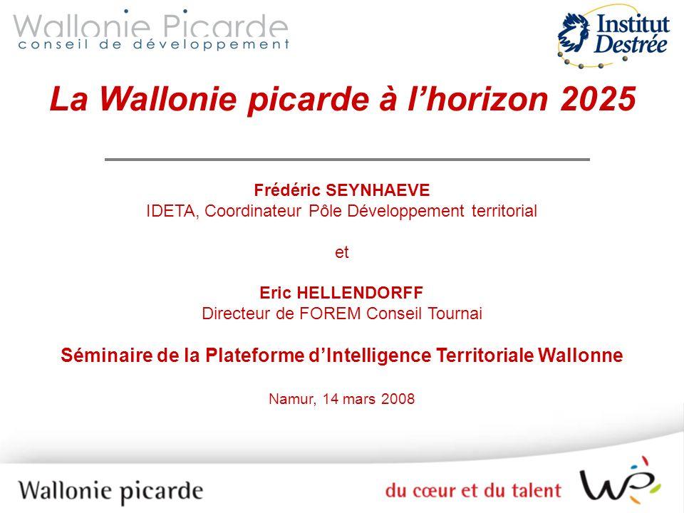 La Wallonie picarde à l'horizon 2025