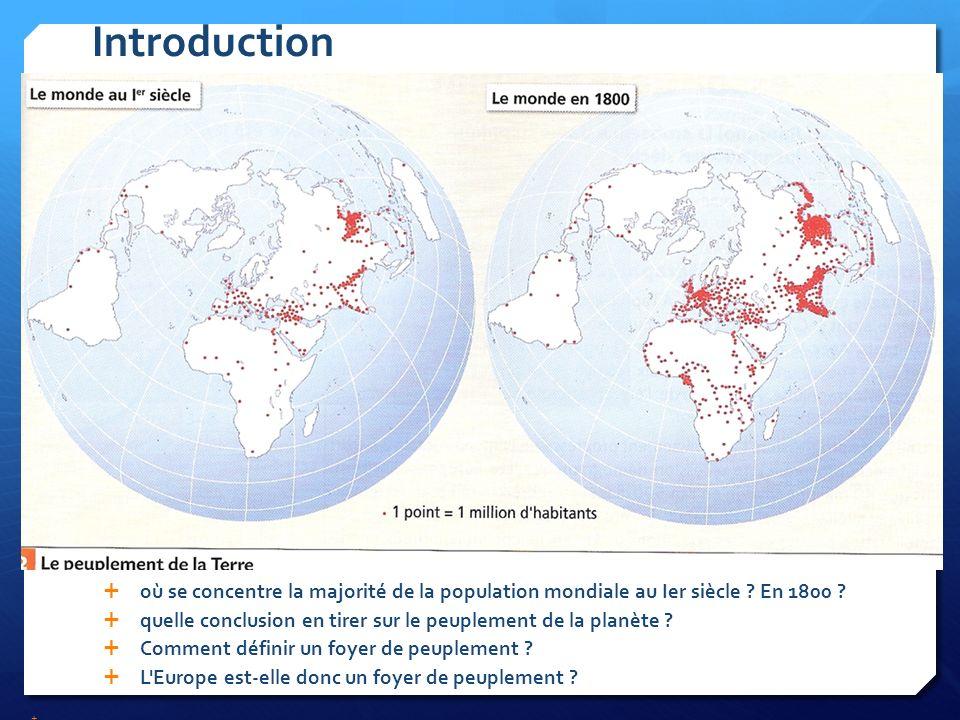Un Grand Foyer De Peuplement : Les europÉens dans le peuplement de la terre ppt télécharger