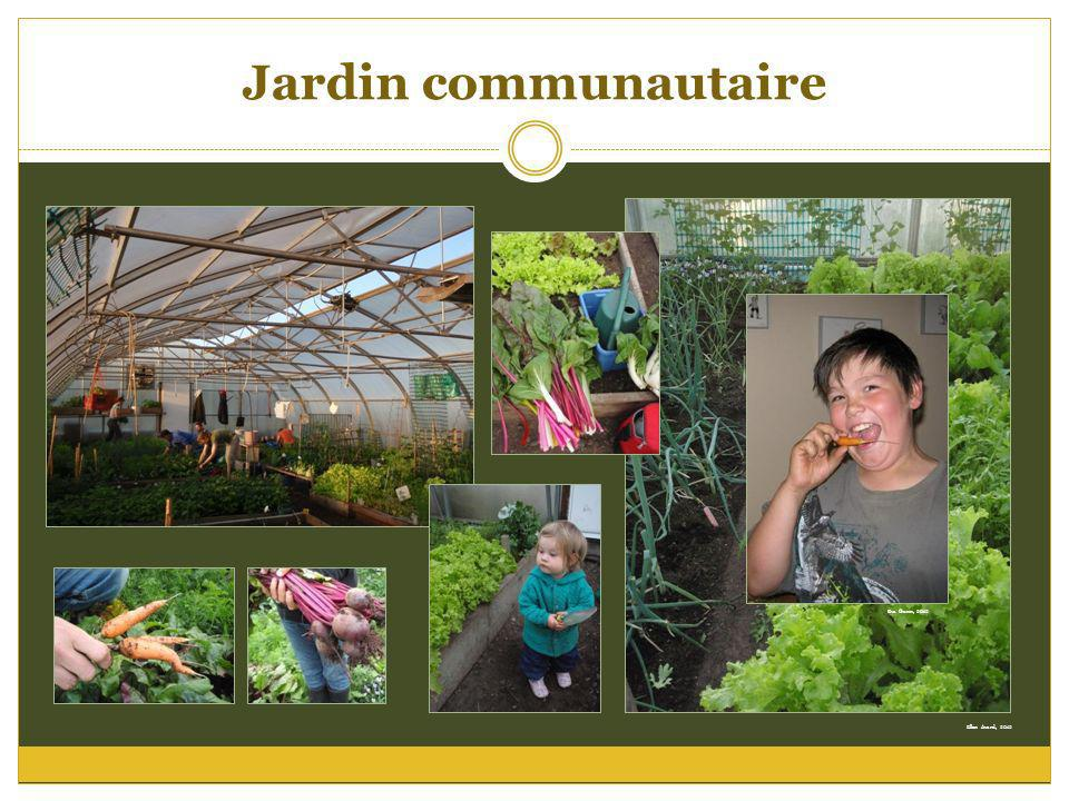 Jardin communautaire Ellen Avard, 2012 Eva Gunn, 2012