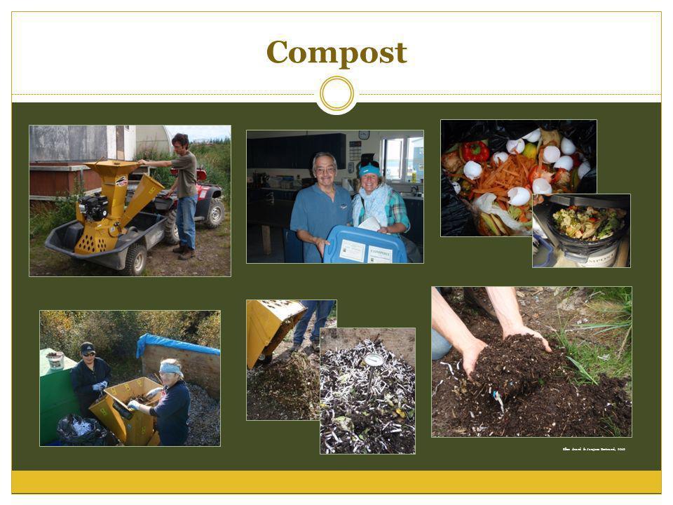 Compost Ellen Avard & Jacques Bertrand, 2012