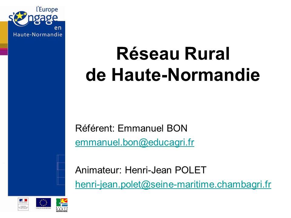 Réseau Rural de Haute-Normandie