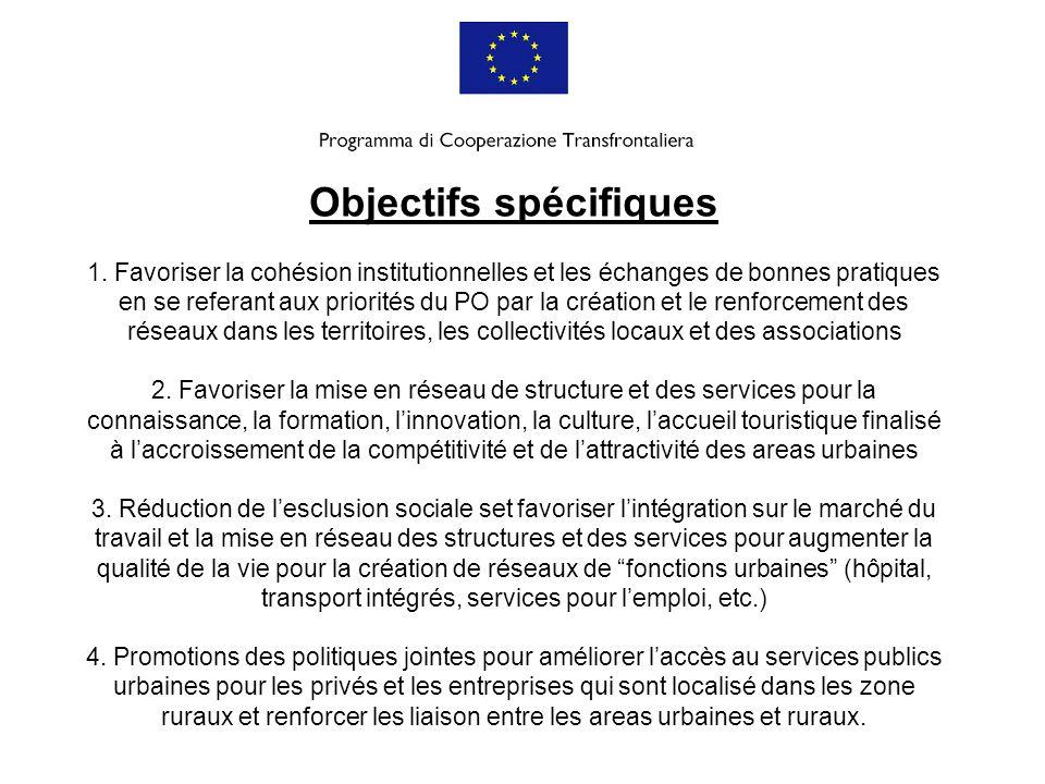 Objectifs spécifiques 1
