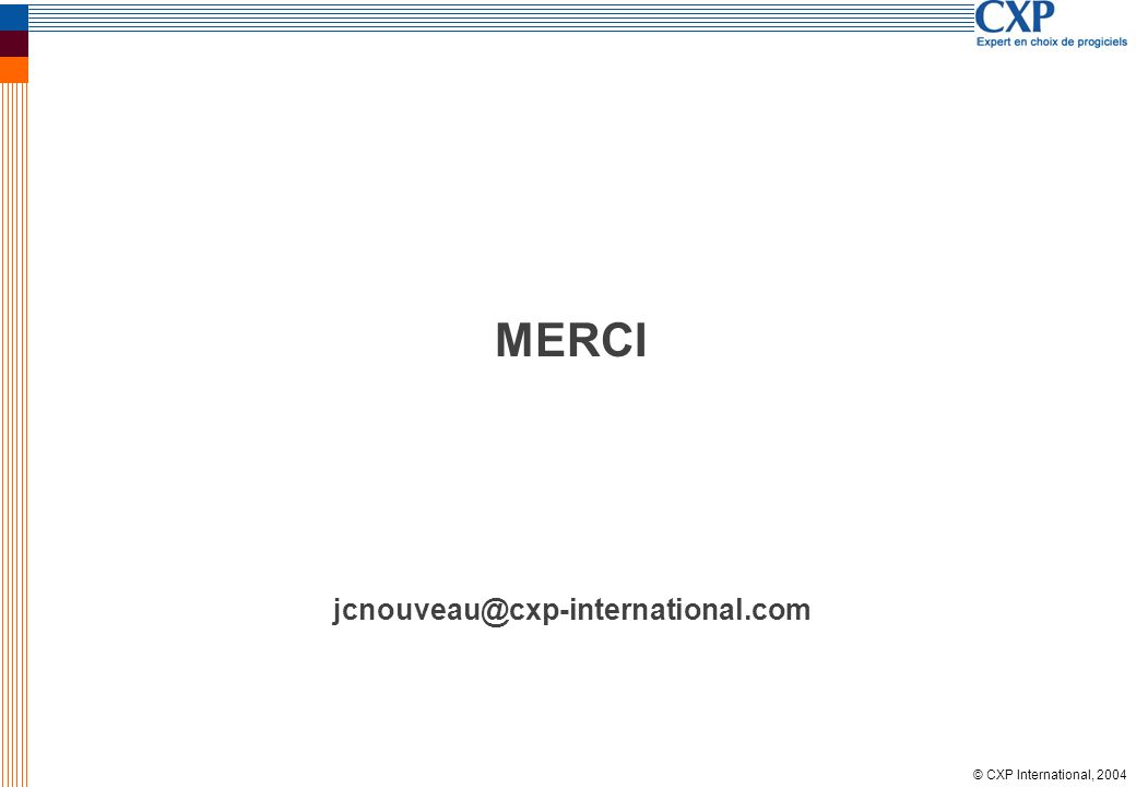 MERCI jcnouveau@cxp-international.com