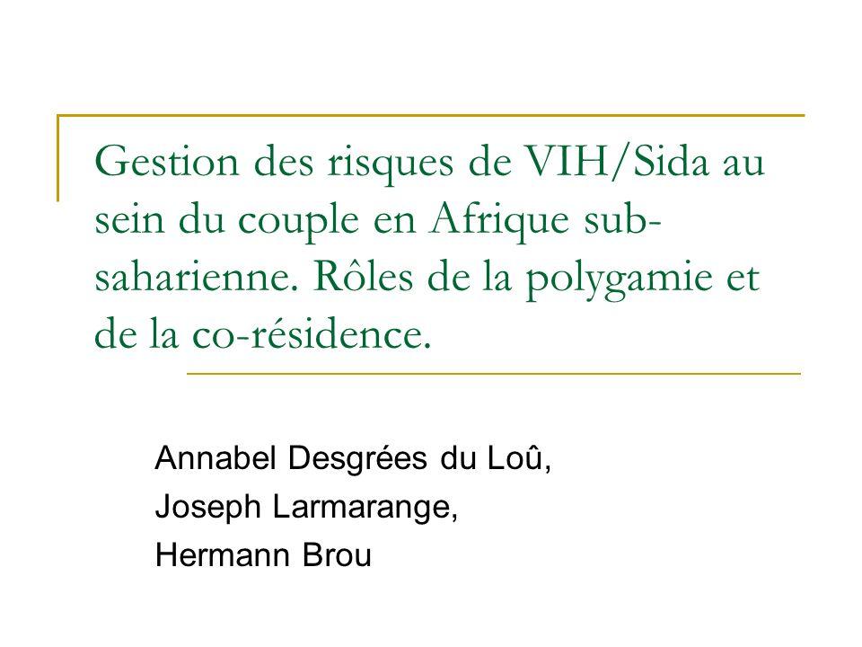 Annabel Desgrées du Loû, Joseph Larmarange, Hermann Brou