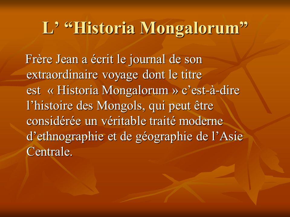 L' Historia Mongalorum