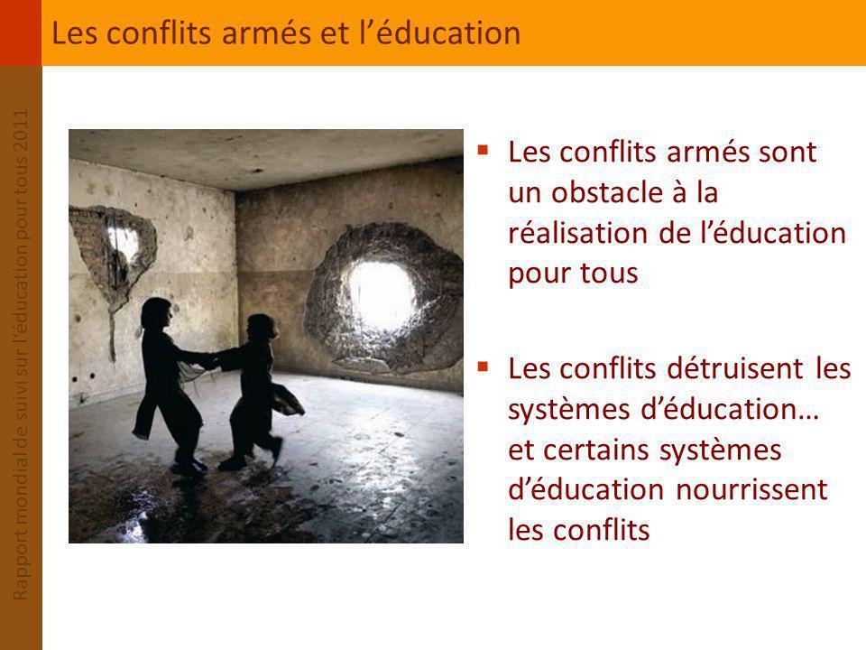 Les conflits armés et l'éducation